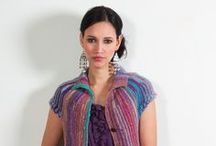 "Strickheft NORO ""SWEET WINTER"" / Strickheft designed by Claudia Wersing http://www.die-hofwerkstatt-shop.de"