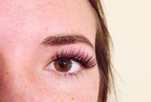 Lashes by Ticia! / Eyes are the window to the soul... grace yours with the highest quality lash extensions for maximum glamour! www.ticialea.com