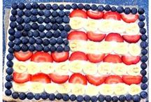 I Love America / Pins that represent the Red White and Blue of America. Foods and DIY gifts for any holiday that celebrates America and The land of the free.  / by Candi Elm {A Day in Candiland}