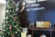 2013 Holiday Season / Decorations by NACE staff for the 2013 holiday season