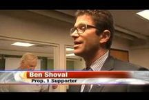 Political Contributions / A dedicated political and economic conservative, Ben Shoval serves his hometown of Yakima, Washington.