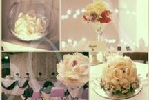 Table decorations to hire / A range of items available to hire.  Based near West London / Surrey / Berkshire / Hampshire.
