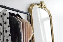 Interior || closet ideas / An organized chaos