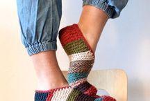 SLIPPERS pantofole di lana