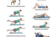 Ejercicios y estiramientos / Estiramientos para la recuperación y la prevención de todo tipo de lesiones.