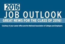 Job Outlook 2016 / The job outlook for the college/university Class of 2016. / by NACE