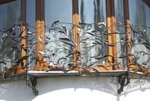 Schmiedekunst / Handgeschmiedete Arbeiten aus Schmiedebronze, Stahl und Edelstahl aus der WerkstattGalerie Peißenberg - Neu = MoMeArt (MosaicMetalArt)