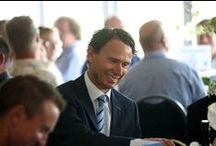 Where Cricket Meets...2003 SCCC Champions Lunch / Friday 9th August saw businesses and supporters of SCCC from around Sussex meet the 2003 Championship winning Squad at the Montefiore Hospital Boundary Rooms in the BrightonandHoveJobs.com County Ground, for the 10th Anniversary Lunch. / by Sussex County Cricket Club