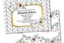 Etsy Store / DIY Printable Invites and Party Packages