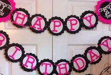 | BIRTHDAY IDEAS | / Birthday inspirations and ideas