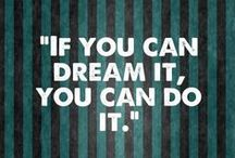 Motivational Quotes / Quotes to keep you motivated during those long hours of studying!
