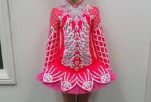 Irish Dance Dresses Spring 2014-Doire Dress Designs / Here is a selection of bespoke Irish dance dresses designed by Shauna Shiels and created by Doire Dress Designs in the Spring of 2014