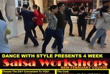 4 WEEK SALSA + BACHATA COURSE - FEBRUARY 2015 / TAKING REGISTRATION FOR NEW SALSA + BACHATA COURSE - FEBRUARY 2015 Buy 1 trial class and get 1 free for a friend or buy a full course for HKD 800 and get a friend to join you for HKD 500/-  beginning from 7th and 8th February on the weekends. Other discount options available as well. Details at: http://dancewithstylehk.com/salsa-classes/ Please Like: https://facebook.com/dancewithstylehkone Please Subscribe: https://www.youtube.com/user/DANCEWITHSTYLEHK