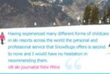 www.SnowBugs.co.uk / Lots of handy links to pages on our SnowBugs Private Nanny Service website (www.snowbugs.co.uk)