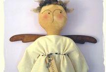 angel  -  decoration - dolls / by Helen 0614
