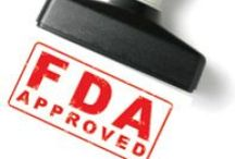 Drug Approvals / A board with information on the latest Drug Approvals.