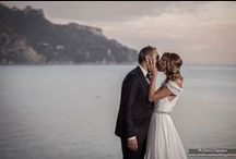 Amalfi Coast Wedding Inspiration / Find out more on www.amalficoastwedding.photos  Catholic wedding in Atrani, the smallest town in Italy, on the Amalfi Coast. Destination wedding photographers - Amalfi Coast - Italy