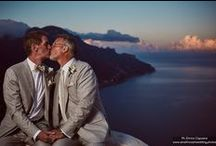 Same Sex Wedding Ideas / Scott and Patrick, same sex couple, photographed during an exclusive wedding at Villa Eva, Ravello, Amalfi Coast, Italy. Romantic atmosphere full of details and emotions. Enrico Capuano Photography.