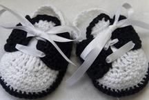 crochet zapatos