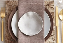 party and table setting ideas / by ronia arenas