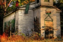 Abandoned, Forgotten, Old, Spooky / by Tami Freeland