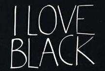 Black / all things black... / by Tami Freeland