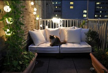 Altan Belysning / Nyd aftenen på altanen! Masser af lysende gode idéer #Balcony #Pation #Decoration