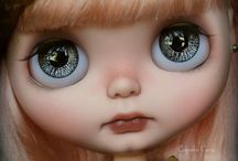Blythe Dolls / Doll Art Photo Shoots hand picked by doll artist Vicki McCarthy from Aussie Stampers.