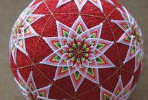 Temari ball / Fantasy around the ball
