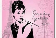 "PARIS ♡ / ""Paris is always a good idea"" - Audrey Hepburn"