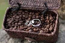 Concept #6: Coffee themed bush camp wedding / A concept I'd like to develop for others' use for an outdoors Autumn or mild Winter wedding. Coffee to keep warm, a walk or ride th