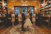 Concept #10: Booklovers library/bookstore wedding / A book themed wedding in a library or bookstore for booklovers. With high tea as the food afterwards of course! Tea and books, guests could bring a favourite kids' book to share, bookmark favours.
