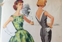 Vintage Dress Sewing Patterns / Because a lovely frock is a thing of beauty forever!