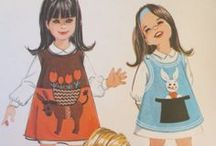 Cute Kids' Sewing Patterns / Because, well...they're cute!