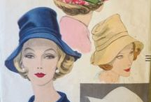 Vintage Hat and Accessory Patterns / Because they make an outfit!