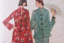 Groovy 1970s Patterns / Because the 1970s were groovy!