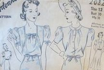 Pretty Pre-1940s Patterns / Because older is better!