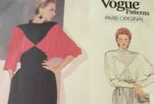 Vintage 1980s Sewing Patterns / Because it's more than shoulder pads!