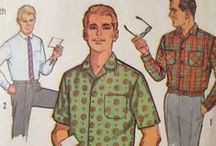 Vintage Patterns for the Boys / Because the guys are stylin'!