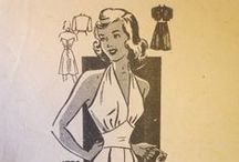 Vintage 1950s Sewing Patterns / Because 1950s dresses are fab!