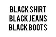 MY STYLE / Black, white, grey, blue & gold