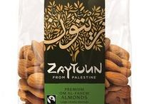Speciality almonds / Om al Fahem almonds are large crunchy creamy and Fairtrade certified