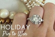 """Holiday Giveaway """"Pin to Win"""" / Enter our Holiday Giveaway for a chance to win a $2000 Gift Certificate to the Beverly Hills Jewelers Store!"""