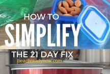 21 Day Fix Food Prep / If you fail to plan, you plan to fail! Get your week off to the right start by prepping and planning with these 21 Day Fix Food Prep ideas!