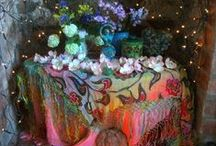 Altars and Shrines / Pictures of beautiful pagan and meditational altars and shrines