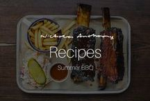 Summer BBQ Recipes / With summer just around the corner (we hope), it's a good time to start planning those wonderful get-togethers with family and friends - so here are some of our favourite and brilliant BBQ recipes for you to use this summer!
