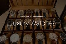 Luxury Wrist Watches / Explore the synergy between our Nicholas Anthony Kitchen designs and these luxurious wrist watches.