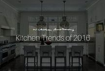 Kitchen Trends of 2016 / See the upcoming trends for luxury kitchen design in 2016. Nicholas Anthony is a leading force in the field of luxurious kitchen and bathroom design.