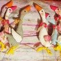 Wielkanoc , szycie-Galeria dekoracji świątecznych.. / Wielkanoc,szycie,dekoracje,zając,gęś,gąska