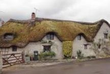 Hobbit Holes and Thatched Roof Houses / by Laural Dorn